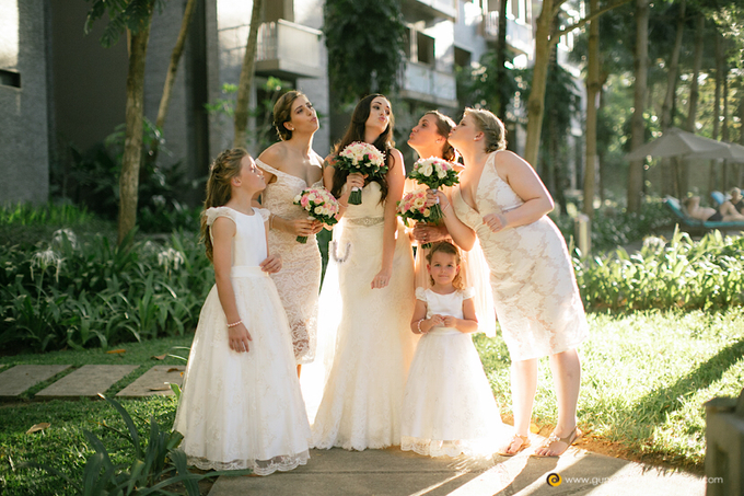 Amanda & Nicholas Wedding by Courtyard by Marriott Bali Nusa Dua - 010