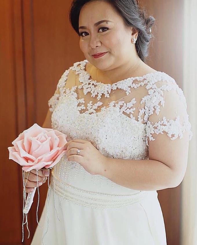 PLUS SIZE WEDDING DRESS by TS BRIDAL BALI - 009