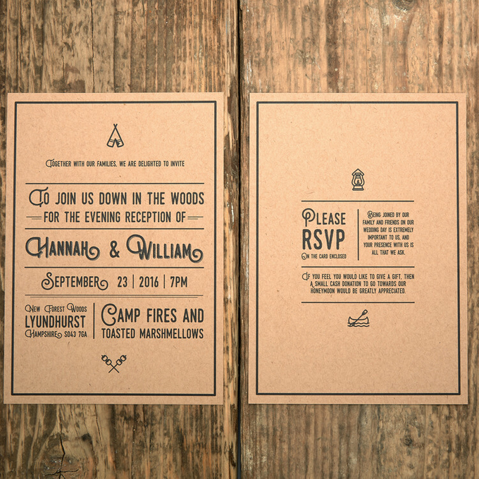 Forest template design by Vicky Perry Wedding Stationery - 004
