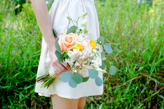 Rustic Garden Style by Liz Florals - 001