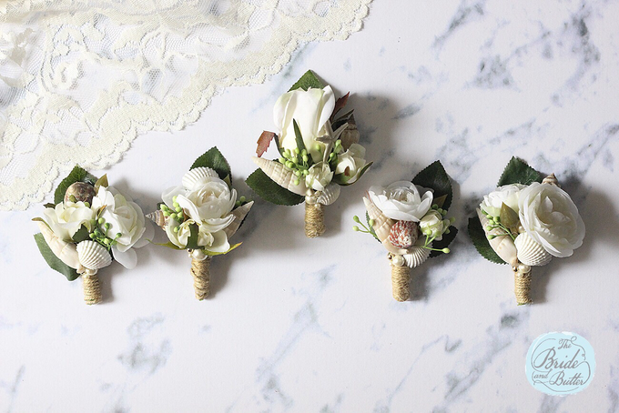 CUSTOM BOUTONNIERES vol 02 by The Bride and Butter - 003