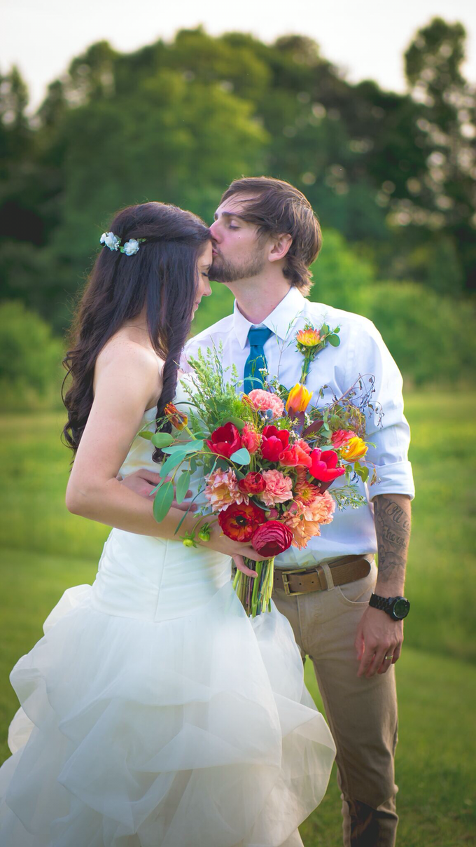 Southern summer wedding  by L&A Event Designs - 038