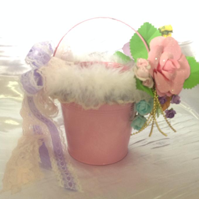 Pastel Handcrafted Entourage Bouquets by Duane's Fleur Creatif - 017