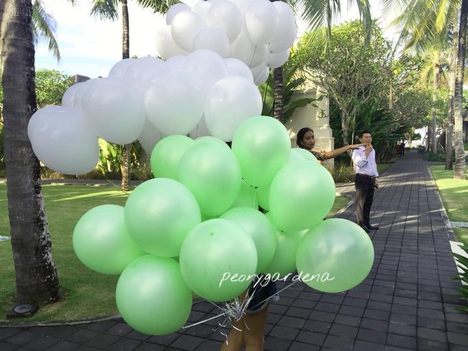 helium balloons by Peony Garden Bali - 009