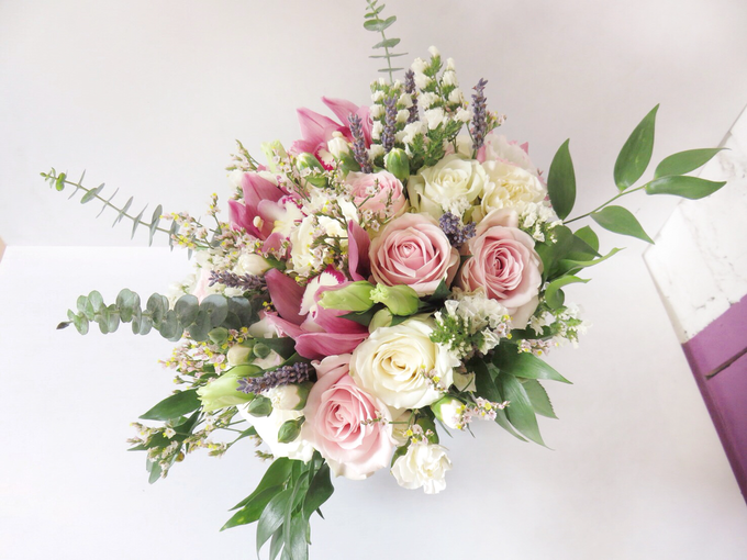 Pink lavender by Royal Petals - 004