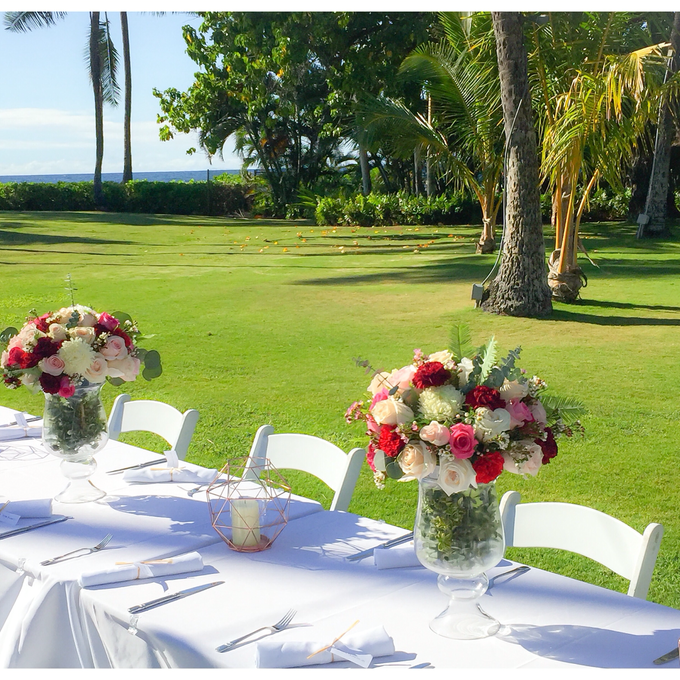 Wedding Floral Design by Bella Amour Events Hawaii - 002