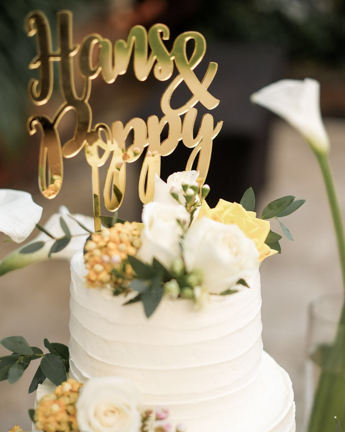 Rustic-Chic Wedding Cake by K.pastries - 011