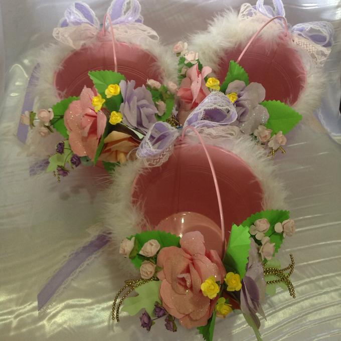 Pastel Handcrafted Entourage Bouquets by Duane's Fleur Creatif - 016