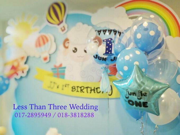 Birthday Decoration by Less Than Three Wedding - 005