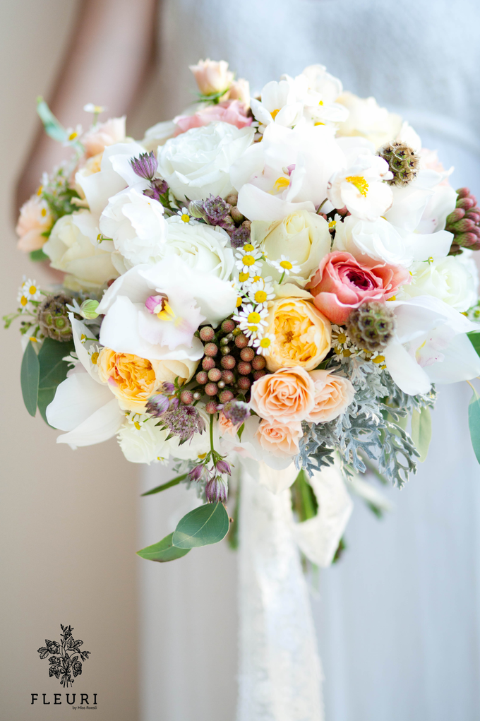 Bridal Bouquets by Fleuri - 016