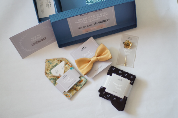 A box of gift / groomsmen's gift by Take A Bow Tie - 003