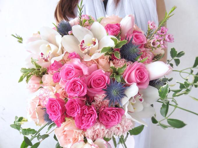 Gardenish pink by Royal Petals - 006