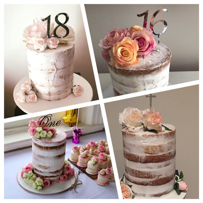Custom designed wedding cakes . by Cake4me - 005