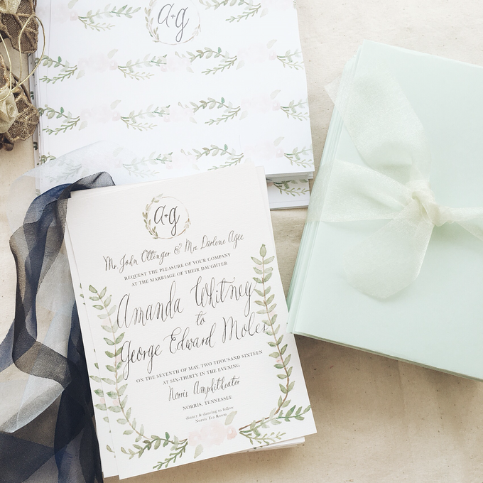 Botanical Suite by Meilifluous Calligraphy & Design - 004