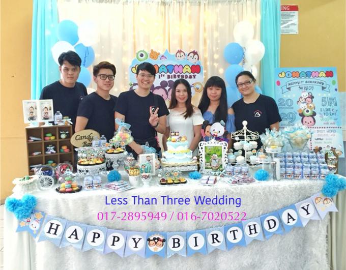 Birthday Decoration by Less Than Three Wedding - 021