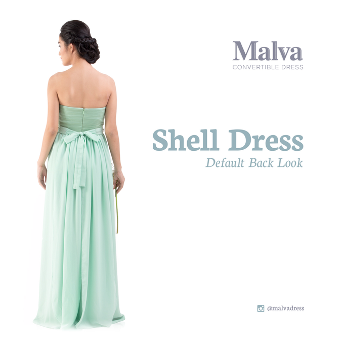 Shell Dress by MALVA Bridesmaids - 001