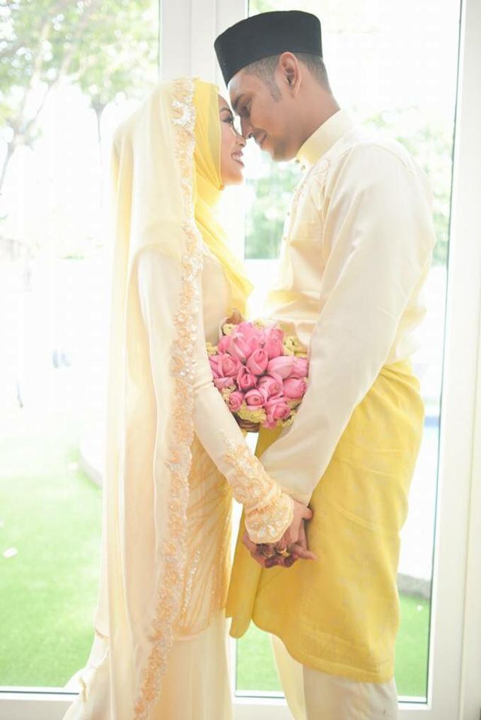 SOLEMNIZATION DRESS by wedding by zamin zawani - 002