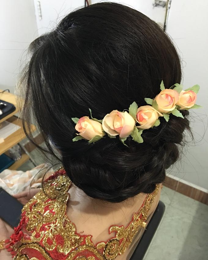 Hair & makeup by vinamakeupartist - 011