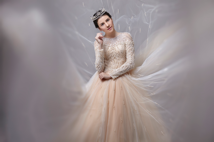 Wedding Gown by Jeffry Sui Couture - 005
