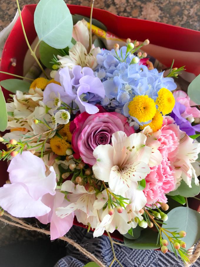 Prewedding bouquet by Liz Florals - 002