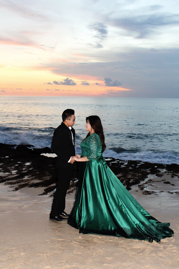 PLUS SIZE DRESS FOR PRE WED PHOTOSHOOT (A&I) by TS BRIDAL BALI - 002