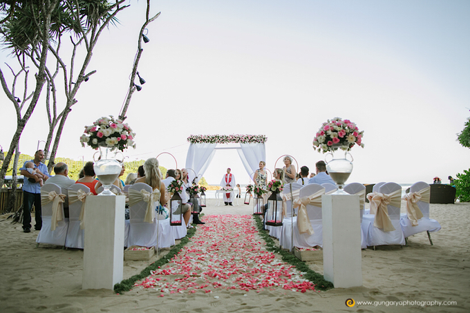 Amanda & Nicholas Wedding by Courtyard by Marriott Bali Nusa Dua - 021