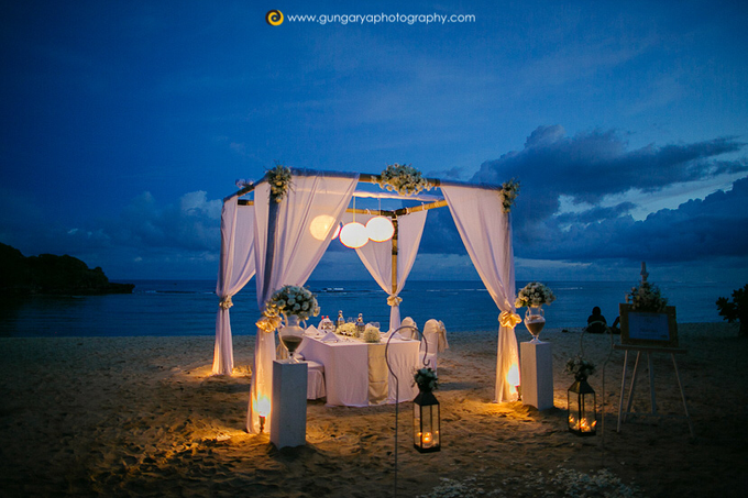 ILZE & MARTINS Wedding by Courtyard by Marriott Bali Nusa Dua - 047