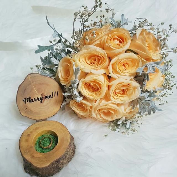 Flower Engagement by Benangsari Flower Studio - 001