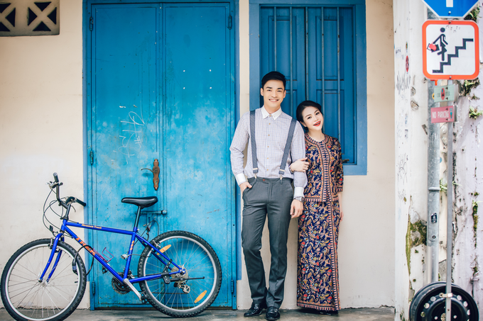 Gin Gin pre wedding shoot  by Cocoon makeup and hair - 002