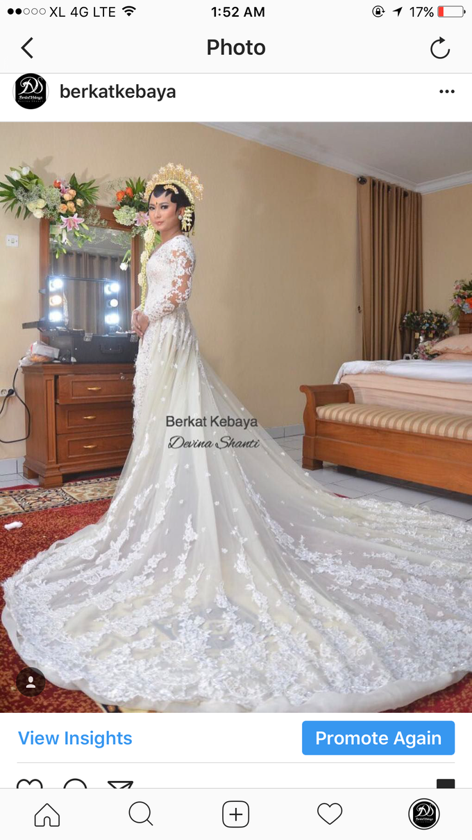 Wedding Gowns by Berkat Kebaya By Devina Shanti - 017