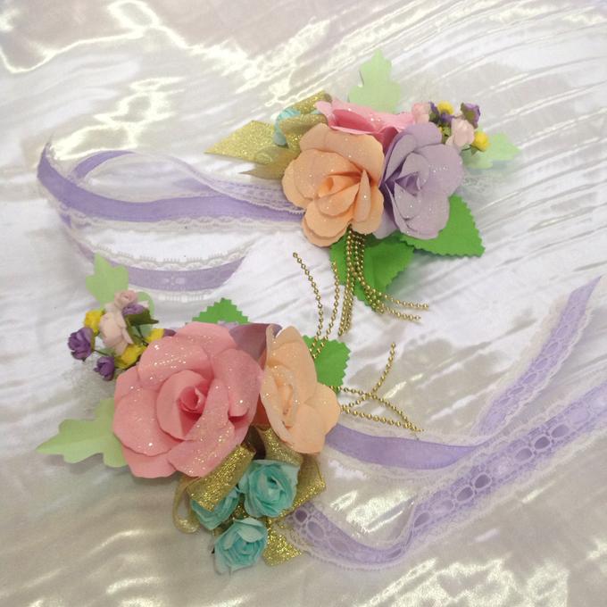 Pastel Handcrafted Entourage Bouquets by Duane's Fleur Creatif - 020