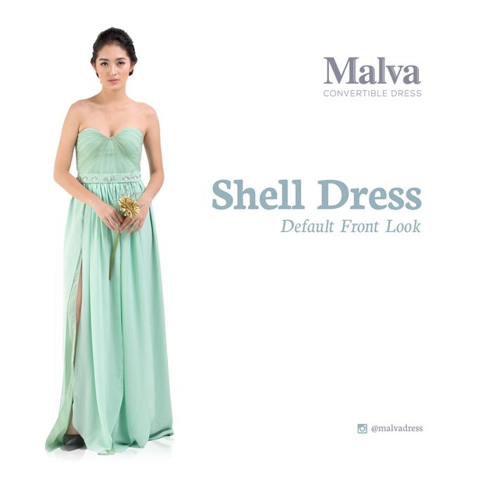 Shell Dress by MALVA Bridesmaids - 003