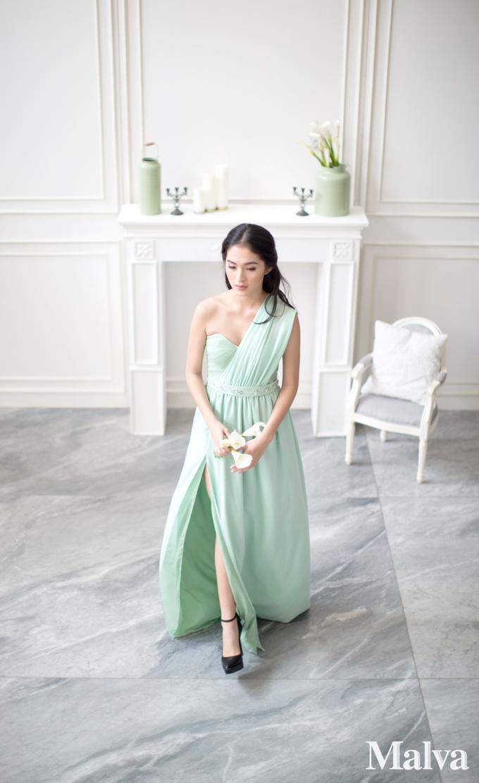 Shell Dress by MALVA Bridesmaids - 004