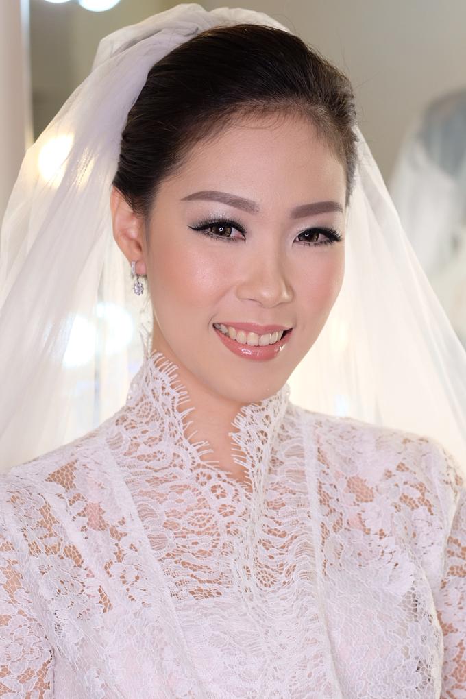 Ria wedding makeup by Amanda Makeup Artist - 016