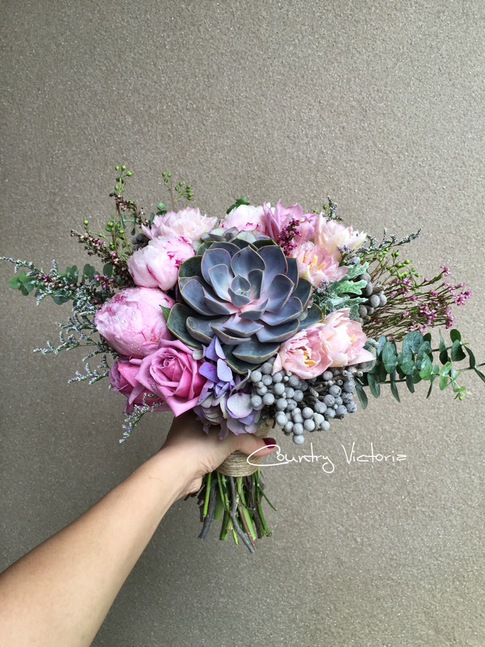 Bridal Bouquets by Country Victoria - 023