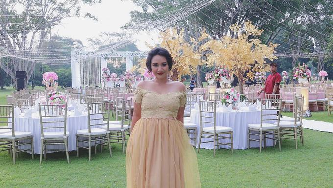 Balinese Wedding Reception of Ina & Dwipa by Tirza Zoraya - 002