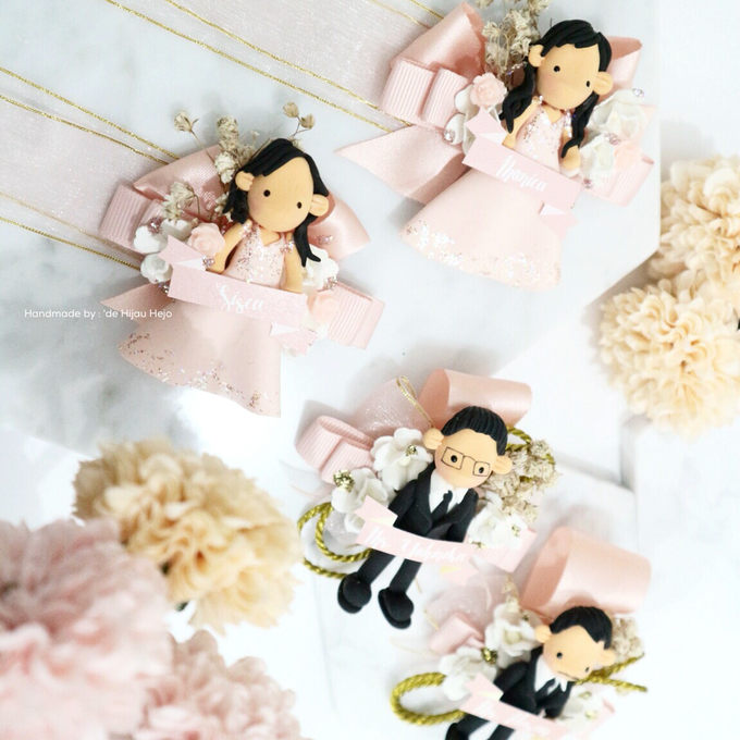 Blush Colour For Corsage And Wristband by de hijau hejo - 006