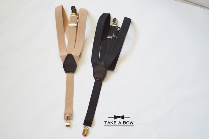 [NEW] TIE SET WITH SUSPENDERS by Take A Bow Tie - 006