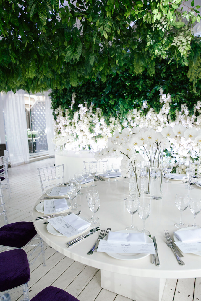 White and green wedding K&K by Maria German decor - 002