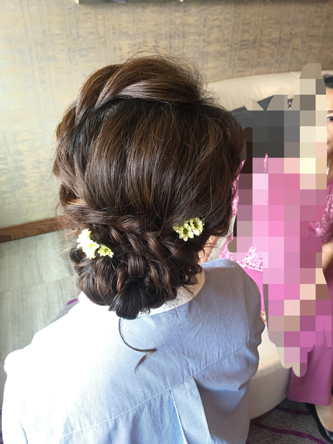 Bridal Hairstyles  by Zinny Theint Make-up Artistry - 009