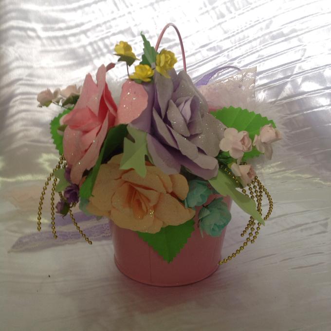 Pastel Handcrafted Entourage Bouquets by Duane's Fleur Creatif - 018