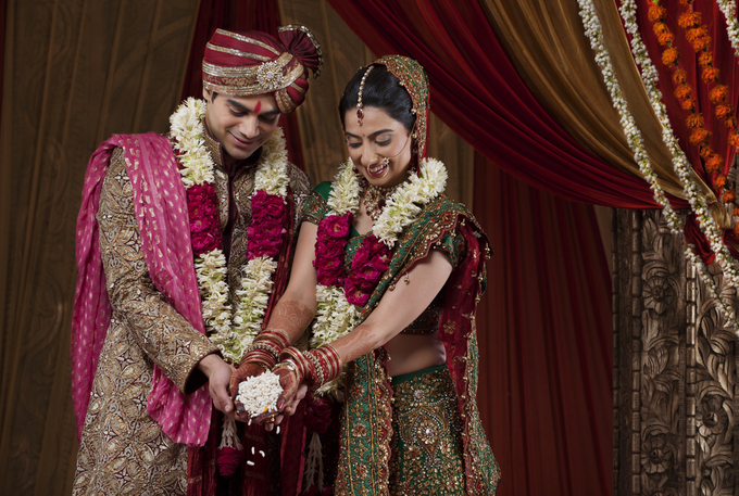 Beautiful cultural Indian wedding by Merit Events - 002