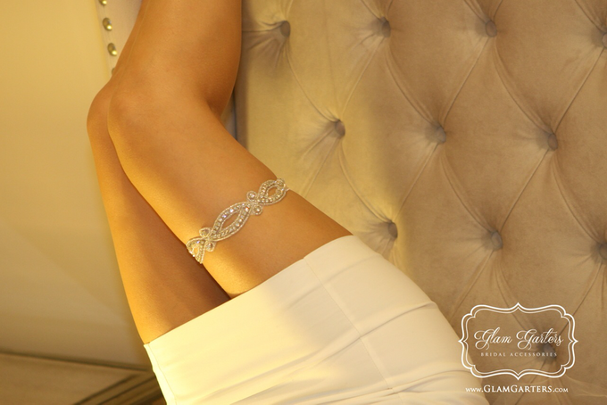 Glam Bridal Garters by Glam Garters Bridal Accessories - 004