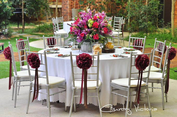 Wedding Reception by Country Victoria - 003