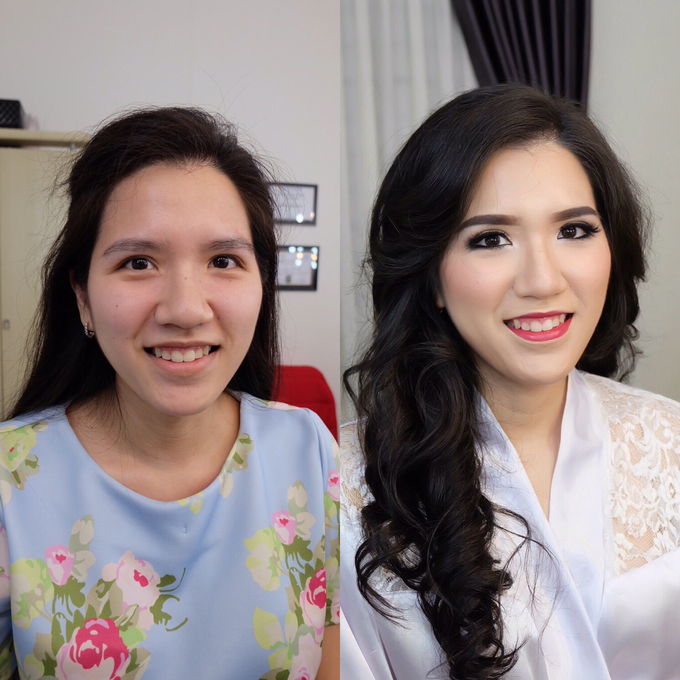 Pre-wedding makeup by Troy Makeup Artist - 001