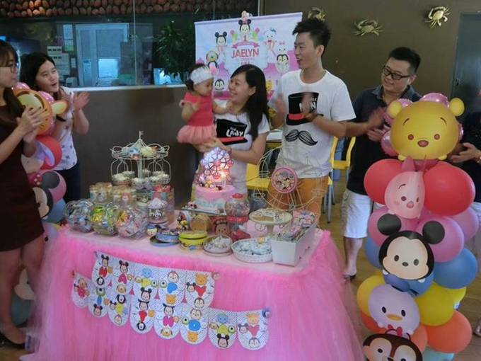 Tsum tsum birthday party by ilmare Wedding - 009