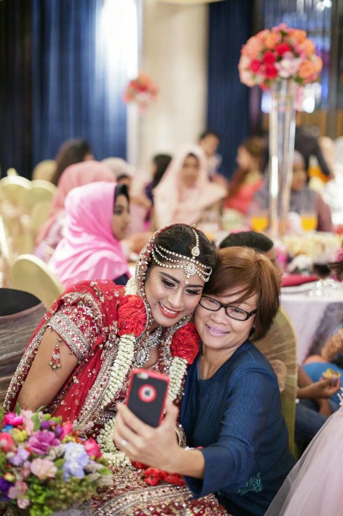 Bee Meera's Wedding by YRegina Makeup - 003