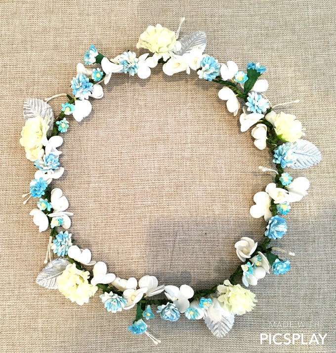 Flower Crown - Import Flowers  by Wedding Needs - 003