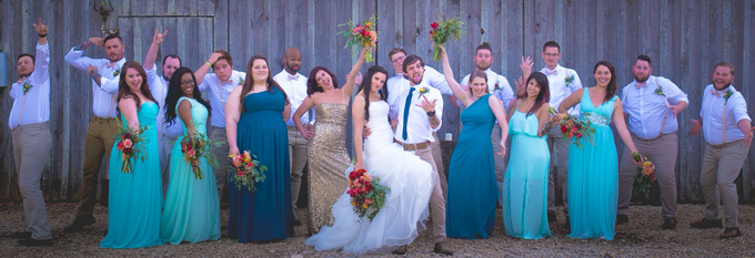 Southern summer wedding  by L&A Event Designs - 034