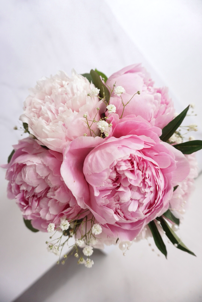 The blush of peonies  by Royal Petals - 002
